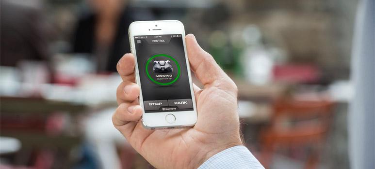 iOS és Android alkalmazás a Husqvarna robotfűnyírókhoz!