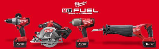 Milwaukee új 5,0Ah gépek