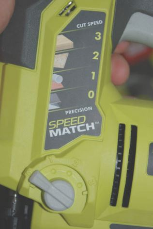 Ryobi szúrófűrész Speed Match