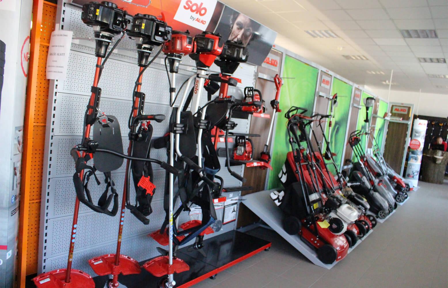 Kerti gépek - Szerszámdoboz Áruház