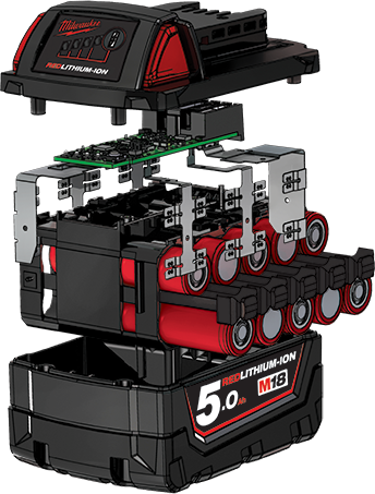 Milwaukee Li-Ion akkumulátor