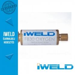 """IWELD FB30 Oxigén visszaégésgátló patron reduktorra (G3/8"""")"""