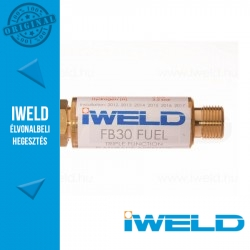 IWELD FB30 Égőgáz visszaégésgátló patron reduktorra