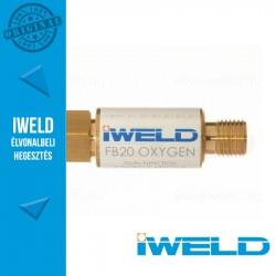 IWELD FB20 Oxigén visszaégésgátló patron reduktorra
