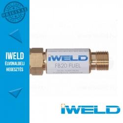 IWELD FB20 Égőgáz visszaégésgátló patron reduktorra