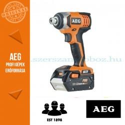 AEG BSS 18C-LI-422 Akkus ütvecsavarbehajtó 1x2,0Ah+1x4,0Ah akkuval