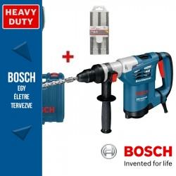 Bosch GBH 4-32 DFR Professional Fúró-vésőkalapács + D-Tect 120 Detektor + fúrószárak