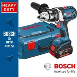 Bosch GSR 18 VE-2-LI Professional Akkus fúró-csavarbehajtó 3 akkuval
