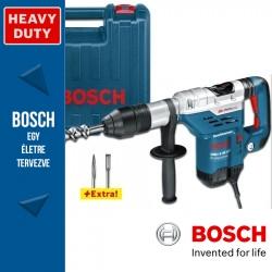 Bosch GBH 5-40 DCE Professional SDS-Max kombikalapács vésőszárakkal
