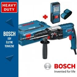 Bosch GBH 2-28 DFV Professional SDS-Plus fúró-vésőkalapács + GLM 30 Távolságmérő