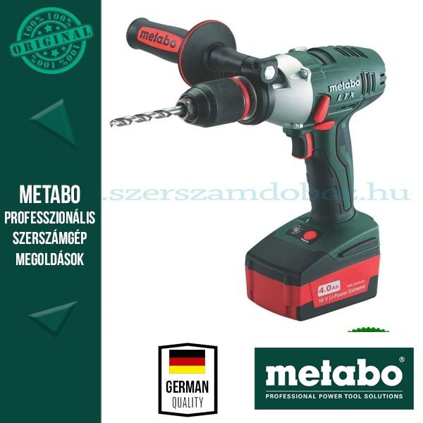 Metabo BS 18 LTX Impuls Akkus fúró-csavarbehajtó 96Nm