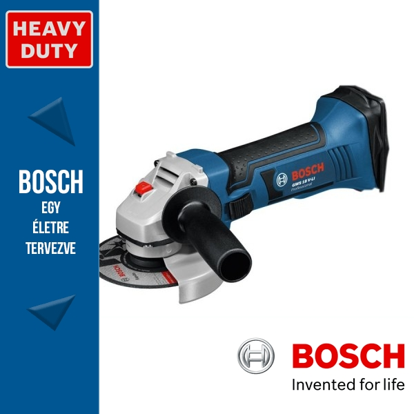 Bosch GWS 18 V-LI Professional Akkus Sarokcsiszoló Alapgép