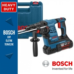 Bosch GBH 36 V-LI Plus Professional fúrókalapács 3 akkuval