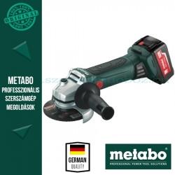 Metabo W 18 LTX 125 Akkus sarokcsiszoló