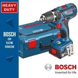 Bosch GSB 14,4-2-LI Plus Professional Akkus ütvefúró-csavarbehajtó 3 akkuval