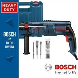 Bosch GBH 2600 Professional SDS-Plus fúrókalapács + fúró-vésőkészlet