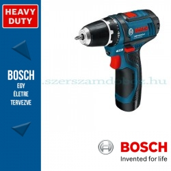 Bosch GSR 12V-15 Li Professional Akkus Fúró-csavarbehajtó