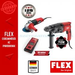 FLEX FAL Fúrókalapács + Sarokcsiszoló Szett