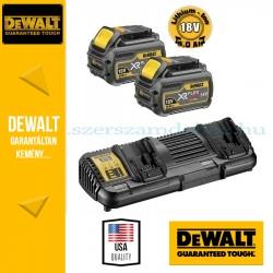 DeWalt DCB132T2-QW XR és FLEXVOLT 18/54V kétportos töltő szettben