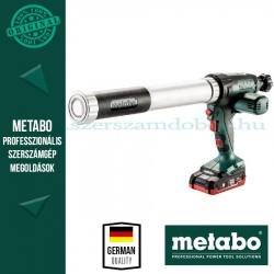 Metabo KPA 18 LTX 600 Akkus kartuspisztoly