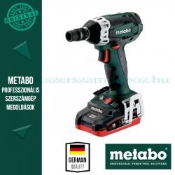 Metabo SSW 18 LTX 200 Akkus ütvecsavarozó