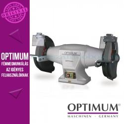 Optimum GZ 30DD Köszörűgép állvánnyal és elszívóval