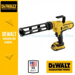 DeWalt DCE560D1-QW Akkus kartuskinyomó pisztoly
