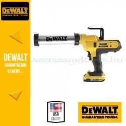 DeWalt DCE571D1-QW kinyomó pisztoly 400ml