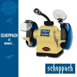 Scheppach BG200 Kettős köszörű