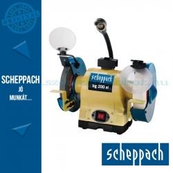 Scheppach BG200AL Kettős köszörű