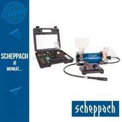 Scheppach HG34 Kettős köszörű-polírozó