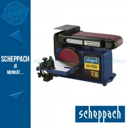 Scheppach BTS800 Szalag -és homlokcsiszoló