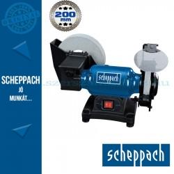 Scheppach BG200W Száraz-nedves köszörű