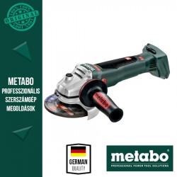 Metabo WB 18 LTX BL 125 Quick Akkus sarokcsiszoló