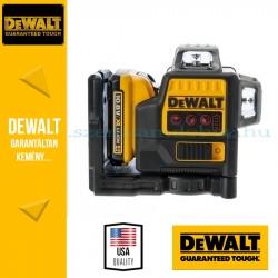 DeWalt DCE0811D1R-QW 360° Önbeálló piros vonallézer, két vonalas