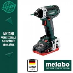 Metabo SSD 18 LTX 200 Akkus ütvecsavarbehajtó