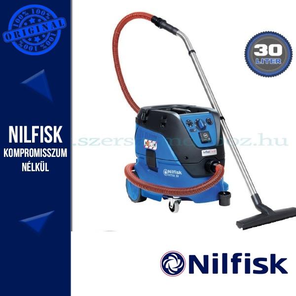 Nilfisk-ALTO ATTIX 33-2M PC Ipari porszívó manuális szűrő tisztítással
