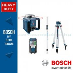 Bosch GRL 400 HV Forgólézer+BT 170 állvány+GR 240 mérőléc