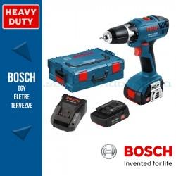 Bosch GSR 14,4-2-LI Plus Akkus fúró-csavarbehajtó (2x4,0Ah - L-BOXX)