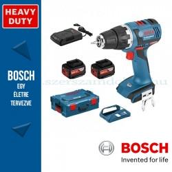 Bosch GSR 18V-EC Akkus fúró-csavarbehajtó (2x4,0Ah)