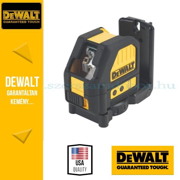 DeWalt DCE088NR-XJ 10.8V piros keresztlézer