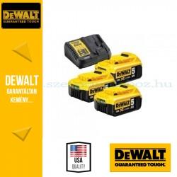 DeWalt DCB115P3-QW Li-Ion Akkucsomag 5,0Ah 18V 3x5,0Ah
