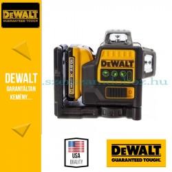 DeWalt DCE0811D1G-QW 360° vonallézer zöld 2 vonalas