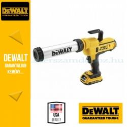 DeWalt DCE580D1-QW Kinyomó pisztoly 600ml-es