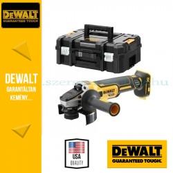 DeWalt DCG405NT-XJ 18V 125mm Kefe nélküli sarokcsiszoló akku és töltő nélkül