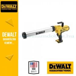 DeWalt DCE580N-XJ Kinyomó pisztoly 600ml-es