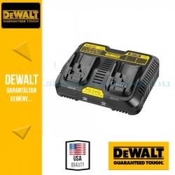 DeWalt DCB102-QW kétállású USB akkumulátor töltő 18V-os XR Li-Ion