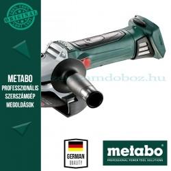 Metabo W 18 LTX 150 Akkus sarokcsiszoló (alapgép)