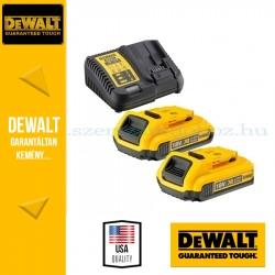 DeWalt DCB115D2-QW 18V 2x2,0Ah akku és töltő
