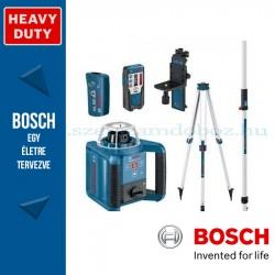Bosch GRL 300 HV Forgólézer+BT 300 HD állvány+GR 240 mérőléc